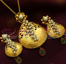 ps1832 exclusive antique gold design handmade real pearl jewellery traditional antique gold necklace