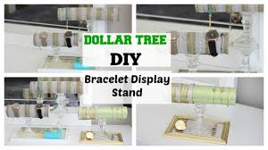 Bracelets Display Stands DOLLAR TREE DIY BraceletJewelry Display Stand EASY YouTube 40