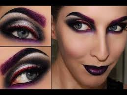 maleificent witch sorceress black widow makeup