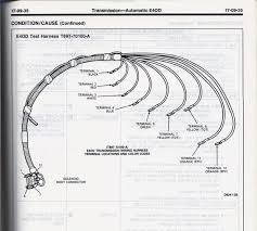 e4od wiring harness e4od image wiring diagram 1994 bronco e4od mlps replacement ford bronco forum on e4od wiring harness