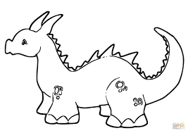Free Printable Dragon Coloring Pages For Kids Coloring Fantasy