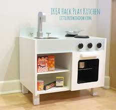 IKEA Hack Play Kitchen | littleredwindow.com | Make an adorable play kitchen  with sink IMG_7675