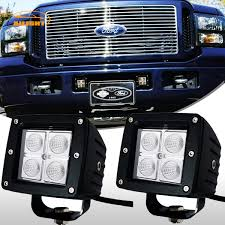 2005 Ford F350 Led Fog Lights Details About 2x 3inch Led Work Light Flood Offroad Fog Driving Pods 05 07 Ford F250 F350 F450