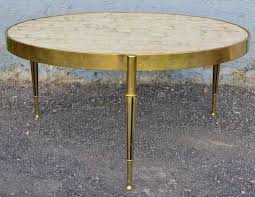 hollywood regency capiz shell and cast br coffee table at 1stdibs