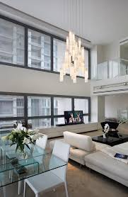 blown glass chandelier living room contemporary with all lighting art glass art glass lighting