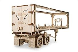 UGEARS 70057 Trailer for Heavy Boy Truck VM-03 mechanical model kit