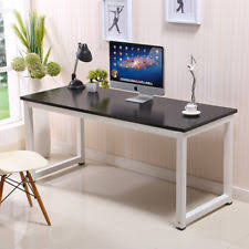 stylish desks for home office. computer desk pc laptop table wood workstation study home office furniture stylish desks for