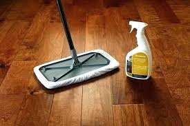 to clean engineered hardwood floors