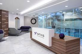 award winning office design. Natixis BCO Award Winning Office Reception Design Image