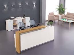 office reception desk. companies welcome desk reception cashier minimalist modern office l