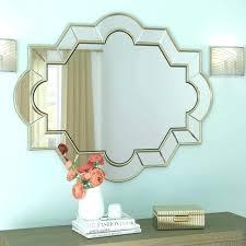 hexagon wall mirror hexagon wall mirror wall mirror hexagon mirror wall decal hexagon shaped wall mirror