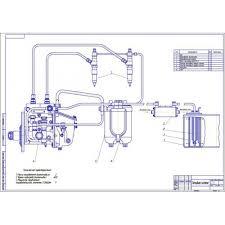 Дипломная работа на тему Разработка топливной системы тракторного  Дипломная работа на тему Разработка топливной системы тракторного дизеля для работы на биотопливе