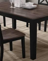 A La Carte Rectangular Dining Table Black Bargain Box And Bunks
