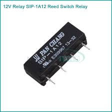 popular reed relay switch buy cheap reed relay switch lots from 5pcs lot 12v relay sip 1a12 reed switch relay 4pin for pan chang relay