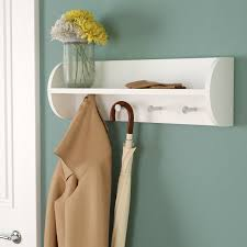 Traditional Coat Rack Charlton Home Traditional Wall Mounted Coat Rack Reviews Wayfair 44