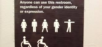 Image result for ambiguous gender bathroom sign