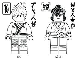 Coloring Pages For Ninjago Stockware