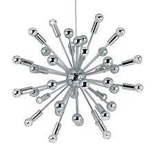 af lighting supernova 28 in 20 light polished chrome abstract chandelier