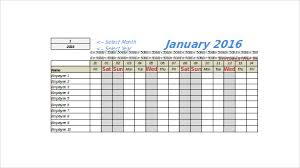 Vacation Tracking Template 9 Free Word Excel Pdf