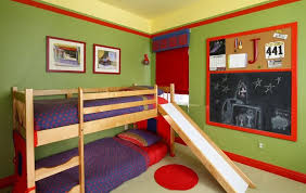 Twin Bed Slide Montserrat Home Design Bunk Bed with Slide Its Fun