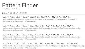 Sequence Pattern Finder