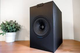 pioneer bookshelf speakers. a kef q150 bookshelf speaker sitting on wooden surface with plant in the background pioneer speakers d