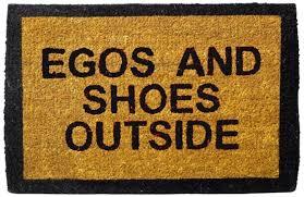 Doormat please remove shoes doormat images : Buy Happily Unmarried Egos and Shoes Outside Coir Doormat - Black ...