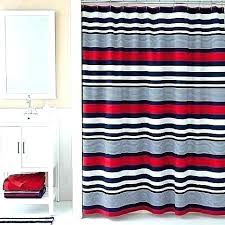 navy and red shower curtain target white curtains a ta