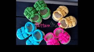 Free Crochet Patterns For Baby Sandals Amazing Design Ideas
