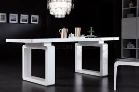 modern white dining table. modern white dining table w