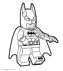 Free lego drawing printable pages. Lego Batman Coloring Pages For Kids Coloring Pages Printable Com