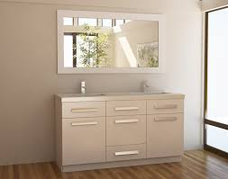 Double Bathroom Sink Cabinet How To Make Up Your Bathroom With Modern Sink Vanity Ideas