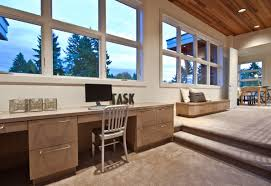 contemporary home office furniture. Hill Contemporary Home Office Nice Decor Idea In Seattle Furniture P
