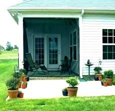 mosquito netting patio enclosure for deck net curtains porch outdoor your screen mesh enclosures