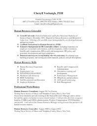 Hr Generalist Resume Objective Samples Pinterest Senior Human