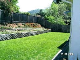 wood retaining wall cost backyard to rebuild how much does a garden cos