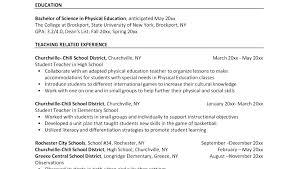 Free Resume Samples For Teachers Example Of Resume For Teachers ...