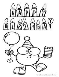 View and print full size. Happy Birthday Coloring Pages Worksheets Teaching Resources Tpt