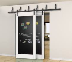 Bypass Barn Door Hardware Amazoncom Winsoon Steel Double Bypass Sliding Barn Door Hardware