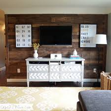 wood pallet wall covering for man cave
