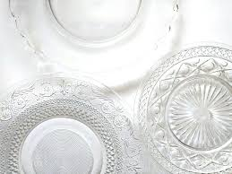 glass plates mismatched glass plates clear glass plates sets