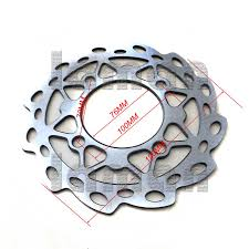 190mm steel dirt bike disc rotor front brake disc for 110cc 125cc