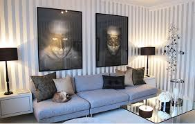 Amazing Classy Gray And White Stripped Walls Classy Grey And White Stripped Walls
