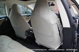 tesla model s front seat cover back