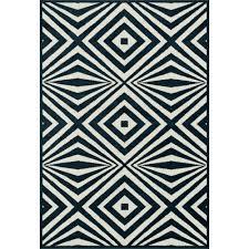 navy outdoor rug. Catalina Optical Illusion Navy/ Ivory Outdoor Rug Navy