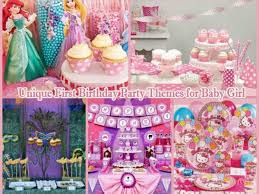 1st Birthday Cake Designs For Baby Girl In India 10 Unique First Birthday Party Themes For Baby Girl 1st