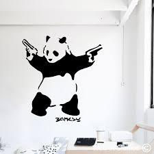 on panda wall art uk with panda wall art decals wallart studios