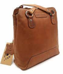 hill burry hill burry vb100208 4065 genuine leather las backpack and shoulder