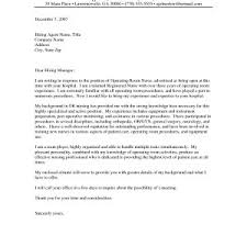 Sample Cover Letter For New Grad Nurse Sample Application Letter For Graduate Nurse Valid New Grad Nursing