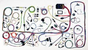 bronco wiring harness american auto wire 1966 1977 ford bronco complete wiring harness kit 510317